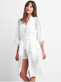 Dreamwell Lace Trim Robe