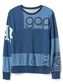 Logo Remix Pullover Sweatshirt