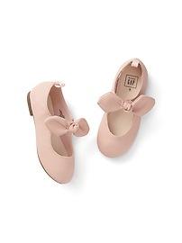 Knot-Tie Ballet Flats