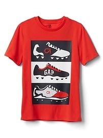 T-shirt à imprimé GapFit pour enfant