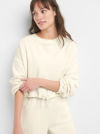 Softspun Pullover Sweatshirt in Terry Cloth