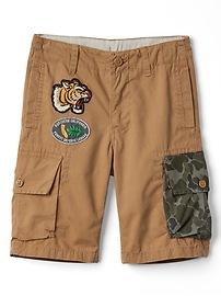 """9"""" Camo Cargo Shorts"""