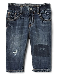 My First Straight Jeans in Distressed