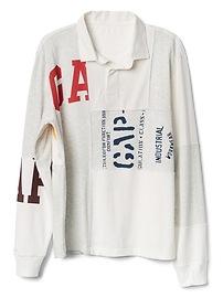 Logo Remix Long Sleeve Rugby Shirt