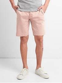 "10"" Washwell Vintage Wash Shorts with GapFlex"