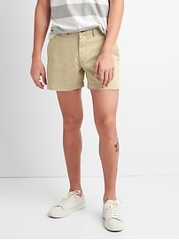 "5"" Washwell Vintage Wash Shorts with GapFlex"