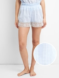 Dreamwell Shorts with Lace Detail