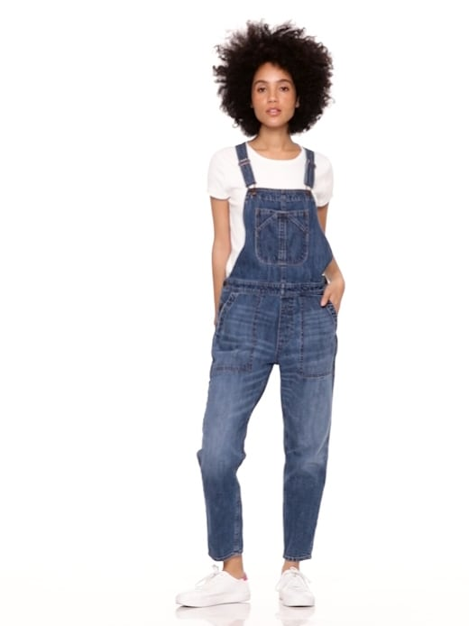 8988f155cbaa5 Relaxed Denim Overalls | Gap