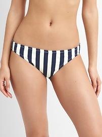 Bikini à rayures classique