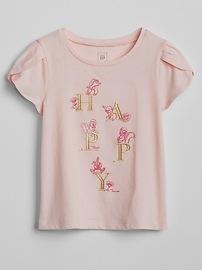 babyGap &#124 Disney Graphic Tulip Sleeve T-Shirt