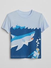 T-shirt à imprimé de dinosaure