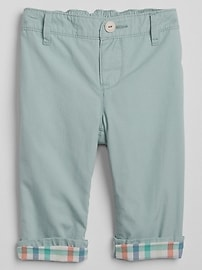 Pull-On Lined Chinos