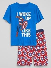 GapKids &#124 Marvel&#169 Short Sleep Set