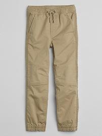 Pantalon d'entraînement à couture en sergé