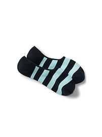 Stripe No Show Socks