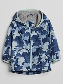Camo Jersey-Lined Windbuster