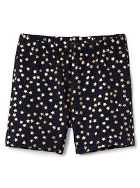 Embellished Tumble Shorts in Stretch Jersey