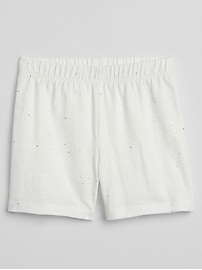 "3.5"" Sparkle Cartwheel Shorts in Stretch Jersey"