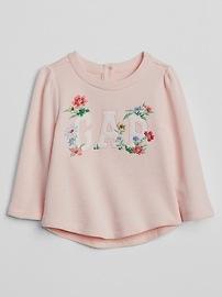 Embroidery Crewneck Sweater