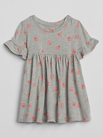 Print Empire Dress