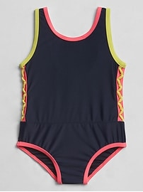 Neon Swim One-Piece