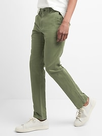 Linen Chinos in Slim Fit