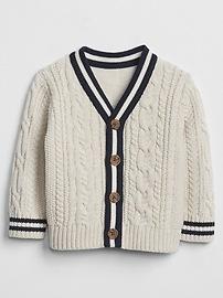 Stripe Cardigan Sweater