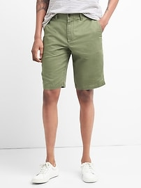 "12"" Chino Shorts in Cotton-Linen"