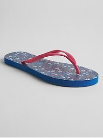 Sandales de plage de base à imprimé