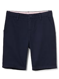 Bermuda Shorts in Twill