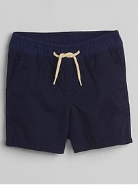 "2.5"" Pull-On Shorts in Twill"