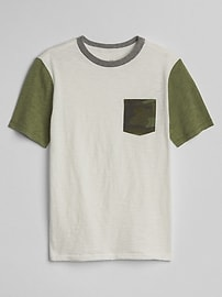T-shirt ras du cou à imprimé