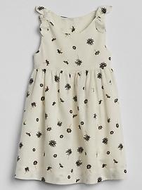 Print Knot-Tie Dress