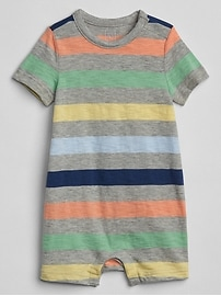 Stripe Shorty One-Piece