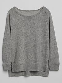 Pullover Raglan Sweatshirt Tunic