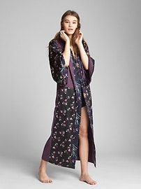 Limited Edition Dreamwell satin kimono robe