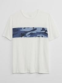 Short Sleeve Camo Pocket T-Shirt