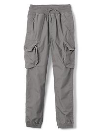 Pantalon d'entraînement cargo à enfiler