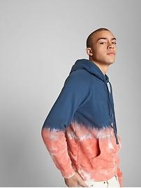 Dip-Dye Pullover Hoodie
