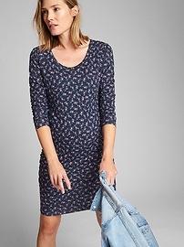 Maternity Long Sleeve T-Shirt Dress
