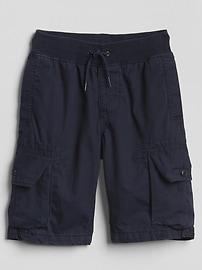 "9"" Pull-On Cargo Shorts"