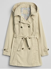 Trench-coat kaki