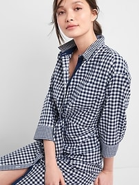 Gap &#124 Sarah Jessica Parker Gingham Shirtdress