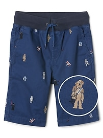 "GapKids &#124 Star Wars&#153 8.5"" Pull-On Shorts"