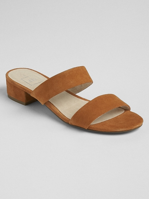 Strappy Mule Sandals by Gap