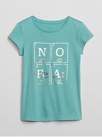 T-shirt ras du cou à imprimé à manches courtes