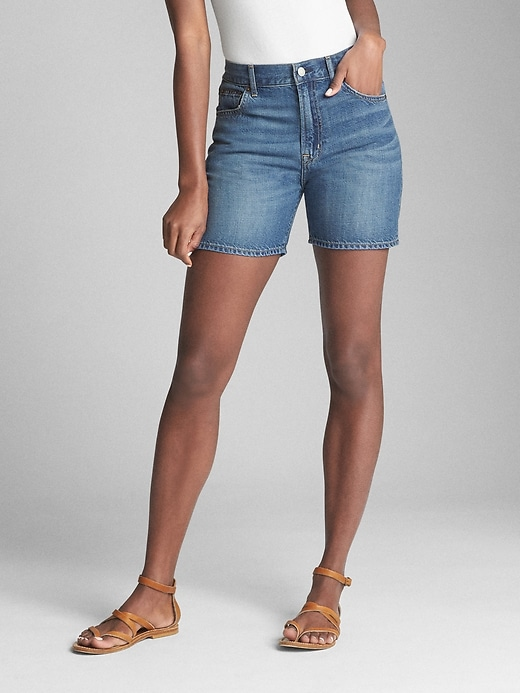 "Wearlight 5"" Relaxed Denim Shorts by Gap"