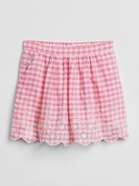 Gap &#124 Sarah Jessica Parker Gingham Skirt