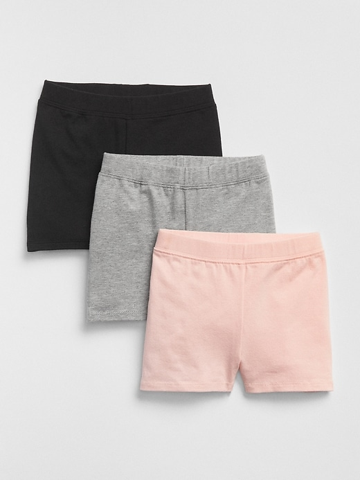 Toddler Cartwheel Shorts (3-Pack)