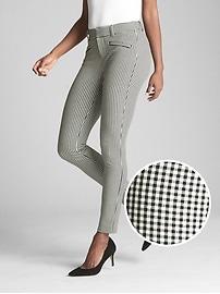 Pantalon exclusif profilé et moulant à extensibilité bidirectionnelle, longueur à la cheville